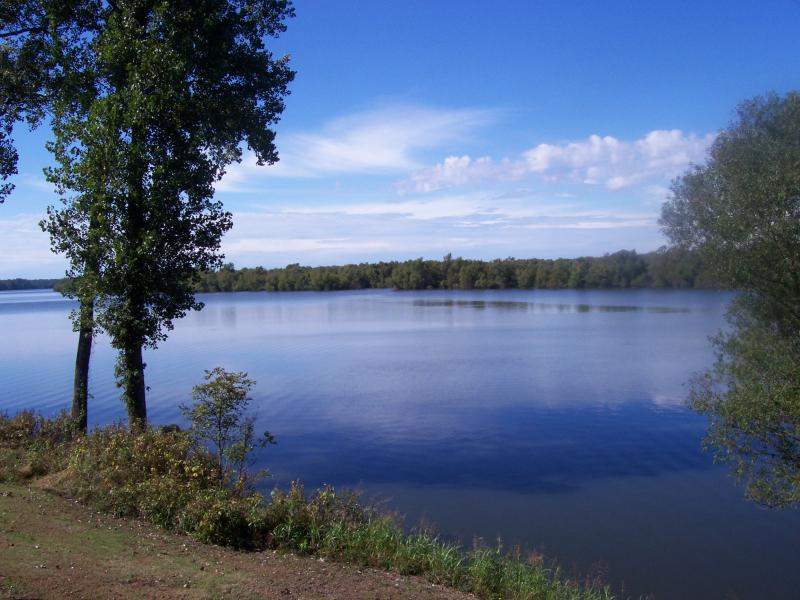 View of Chotard Lake